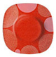 constellation-red-dessert-plate