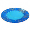 graphic-flowers-blue-dinner-plate-25cm