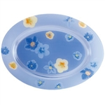 poeme-blue-oval-plate-35-luminarc